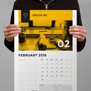 A3 custom wall calendar print near me