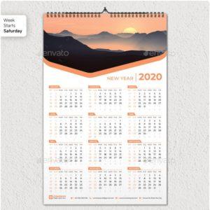 one-page-a3-calendar