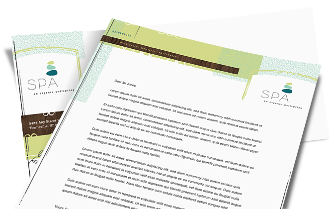 Letterhead Design and Print Guidelines