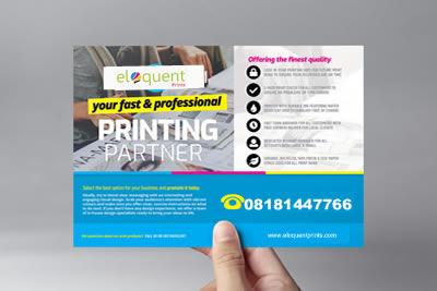 flyer design snd print service in lagos nigeria