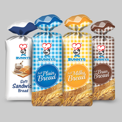 bread wrapper design