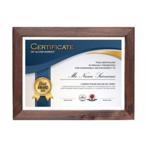 certificate-wooden-frame-nigeria