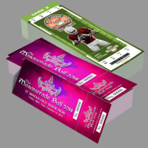 event ticket printing lagos