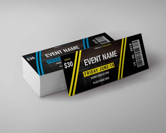 event ticket printing lagos nigeria