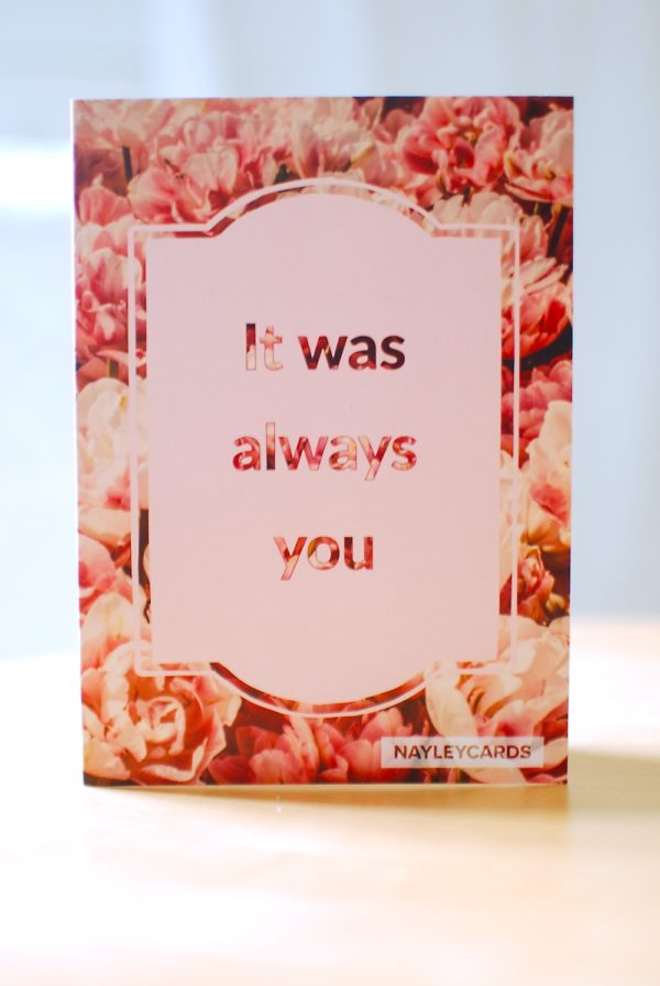 valentine lovers card